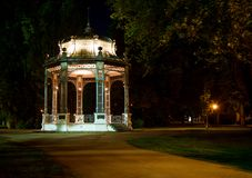 Bandstand at night Stock Photography