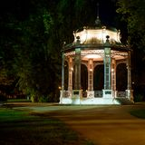 Bandstand at night Stock Photo