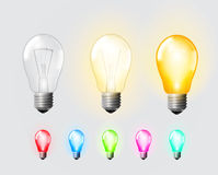 Glow bulb Stock Photography