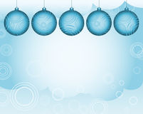 Glow Christmas background. The light glow Christmas background with decorations Royalty Free Stock Photo