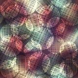 Glow of circles geometric pattern. Stock Image