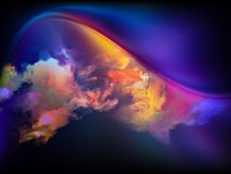 Glow of Colors Royalty Free Stock Photos