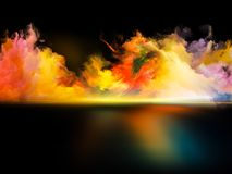 Glow of Colors Royalty Free Stock Images