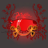 Glow Cupid Banner Royalty Free Stock Photography