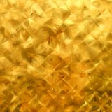 Glow gold mosaic background. EPS 8 Royalty Free Stock Photos
