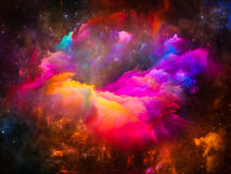 Glow of Interstellar Clouds Stock Images