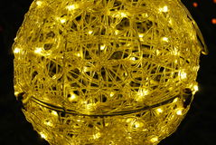 Glow lamp, closeup 4 Royalty Free Stock Photo
