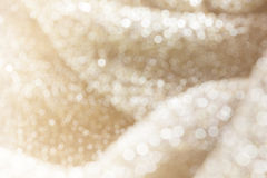 Glow light blow white pearl glitter bokeh and sunlight for romantic mood valent Royalty Free Stock Images