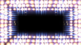 Glow light border stock video