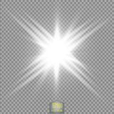 Glow light effect. Star burst with sparkles.Sun.Power energy neon lights cosmic abstract. Stock Image