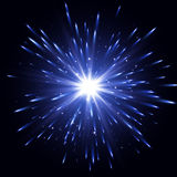 Glow light effect. Star burst with sparkles. Transparent Light Effect. Vector explosion Royalty Free Stock Photography