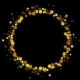 Glow luxury shiny ring vector design Stock Photos