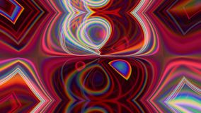 Glow motion illusion trance red abstract lights. Glow motion. Illusion trance. Red abstract illuminated lights design stock footage
