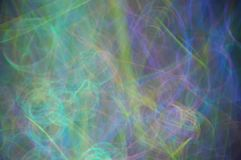 Glow stick abstract. Abstract light painting with glow sticks Royalty Free Stock Images