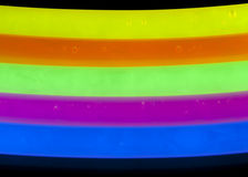 Glow Sticks Closeup Royalty Free Stock Photography