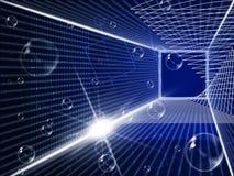 Glow Tech Represents Light Burst And Blazing Stock Photos