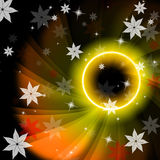 Glow Twirl Indicates Outer Space And Artistic Royalty Free Stock Photos
