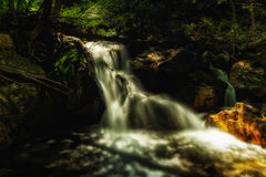 Glow of the Waterfall Stock Photo