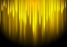 Glow yellow stripes abstract background Stock Image