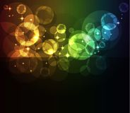 Glowing abstract background Royalty Free Stock Photography