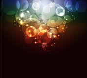 Glowing abstract background Stock Photo