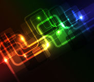 Glowing abstract background Stock Photos