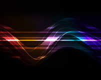 Glowing abstract background Royalty Free Stock Image