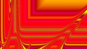 Glowing abstract banner in fire colors royalty free stock image