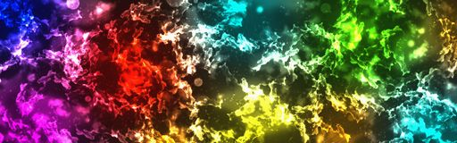 Glowing abstract grunge background. Ragged multicolor texture. Web banner with blur stock photos