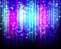 Glowing Abstract Lines background Royalty Free Stock Photo