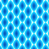 Glowing Abstract Pattern in Shades of Blue, vector Stock Photos