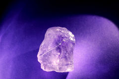 Glowing Amethyst Close Up Royalty Free Stock Image