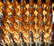 Glowing Ammo Royalty Free Stock Photos