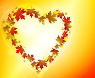 Glowing Autumn background Royalty Free Stock Images