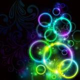 Glowing background stock illustration