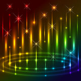 Glowing Background. Royalty Free Stock Photography