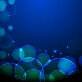 Glowing Background. Illustration of abstract glowing background with glitter Stock Photo