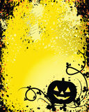 A Glowing Background for Halloween Stock Image