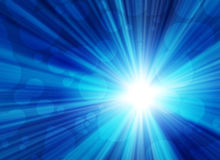 Glowing background. With rays of light Royalty Free Stock Photography