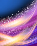 Glowing background with stars. Abstract glowing background with stars Royalty Free Stock Images