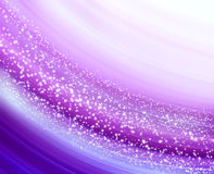 Glowing background with stars. Abstract glowing background with stars Stock Images