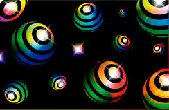 Glowing ball Stock Images