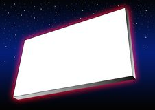 Glowing banner Stock Images