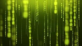 Free Glowing Binary Rain Computer Inside Matrix Numeric Blur Background Stock Photography - 134561042