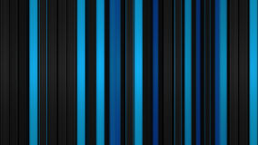 Glowing blue vertical lines. Anstract 3D render Royalty Free Stock Image