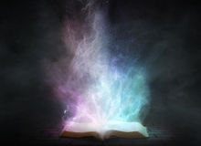 Glowing Book royalty free illustration