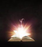 Glowing book Stock Photo