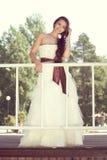 Glowing bride Stock Image