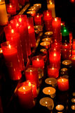 Glowing candles Royalty Free Stock Photo