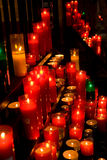 Glowing candles Royalty Free Stock Photography